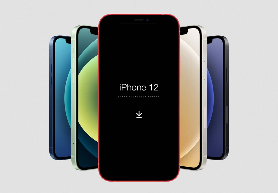iPhone 12 Free Mockup