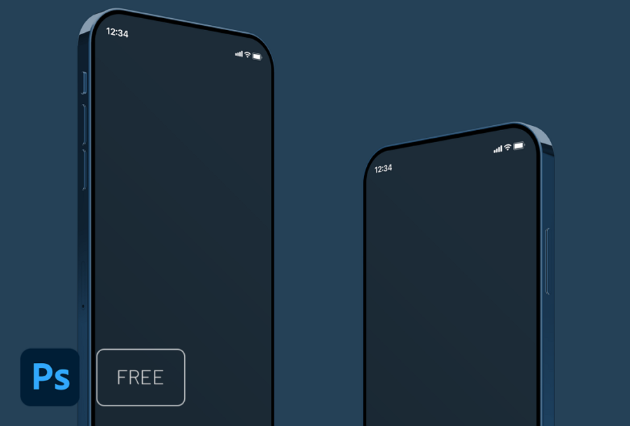 iPhone 21 Mockup Free to Download