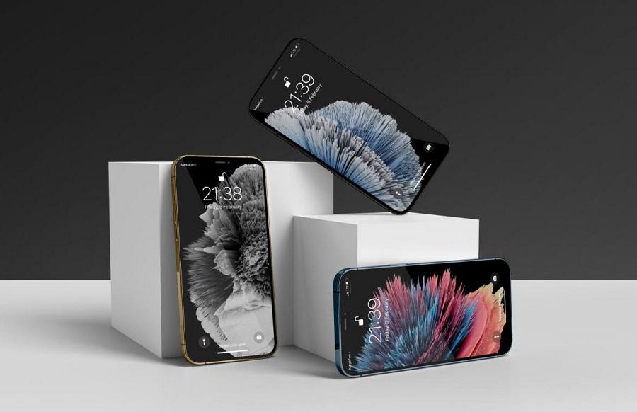 iPhone 12 Pro Mockup Set Box