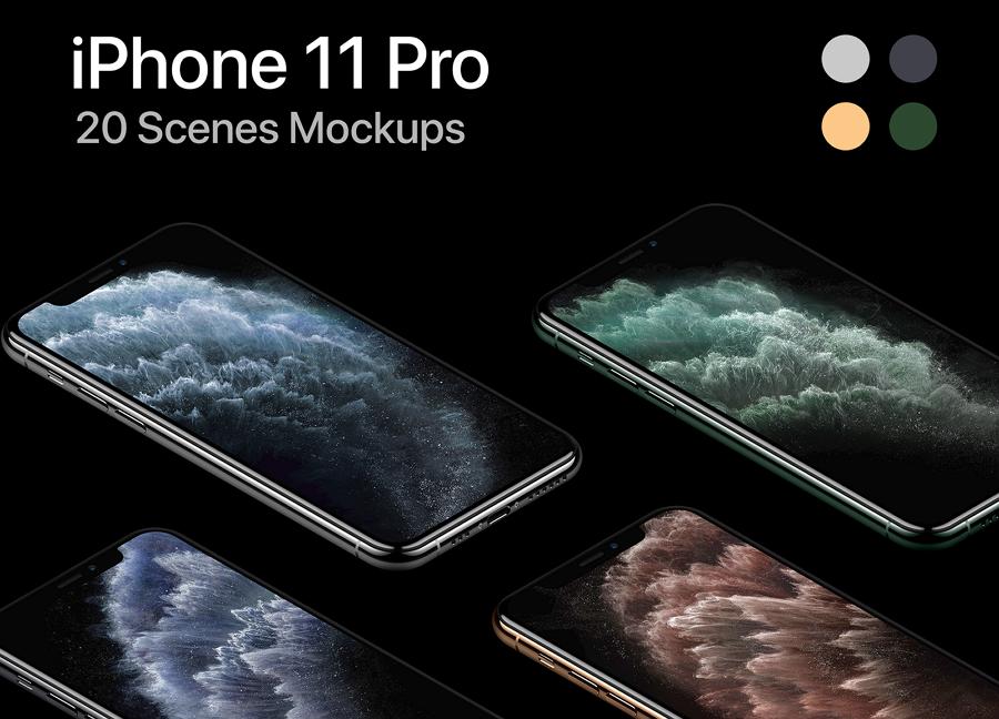 iPhone 11 Pro PSD