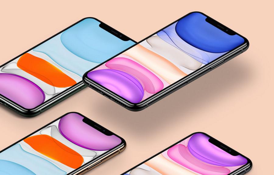 Free iPhone 11 Mockup Set
