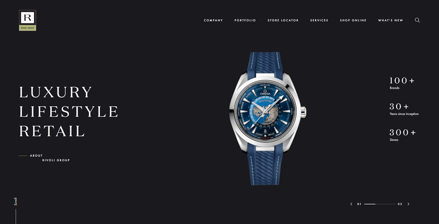 Black Background highlights your product and interface content easily