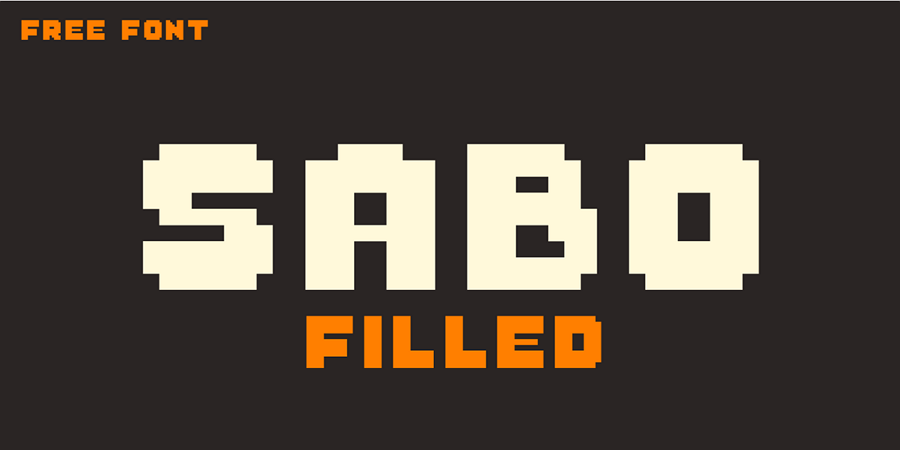 A Pixel Style Font Good for Retro Website Apps