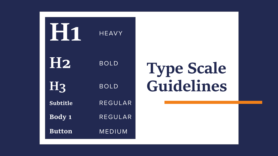 Make your typography scalable