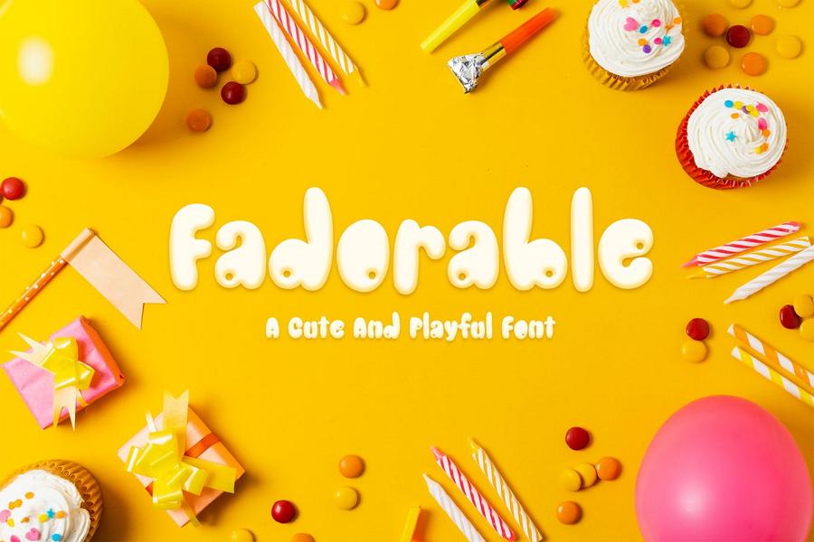 Adorable Font