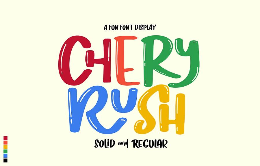 Cherry Rush Font