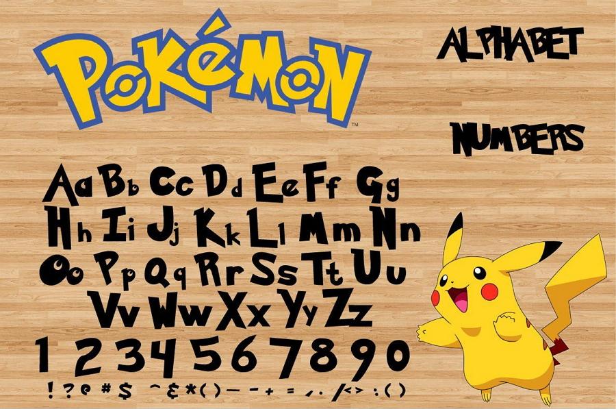 Pokemon Font