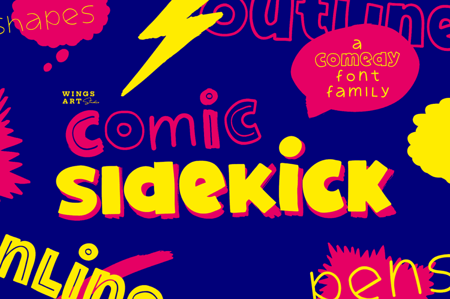 Commic Sidekick