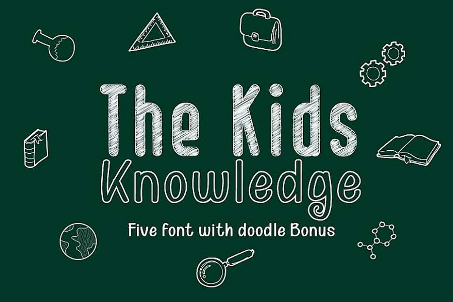 Kid Knowledge Font