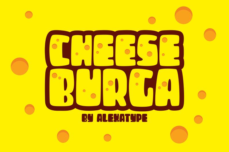 Cheese Burga Font