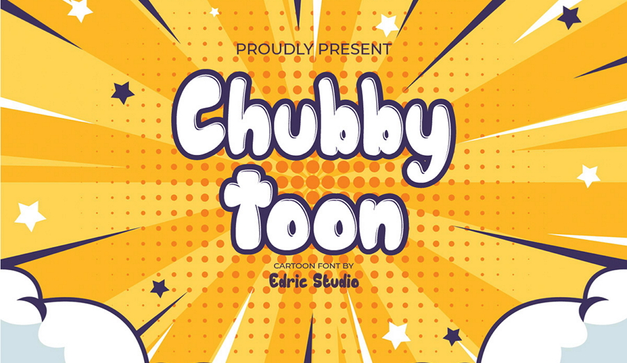 Free Chubby Toon Font