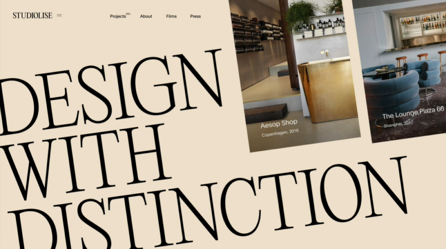 Studiolise Website