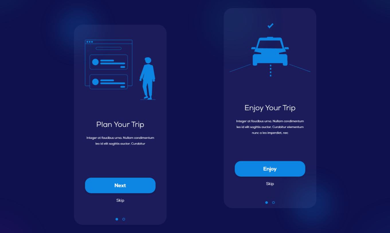 Allow users to skip an onboarding screen